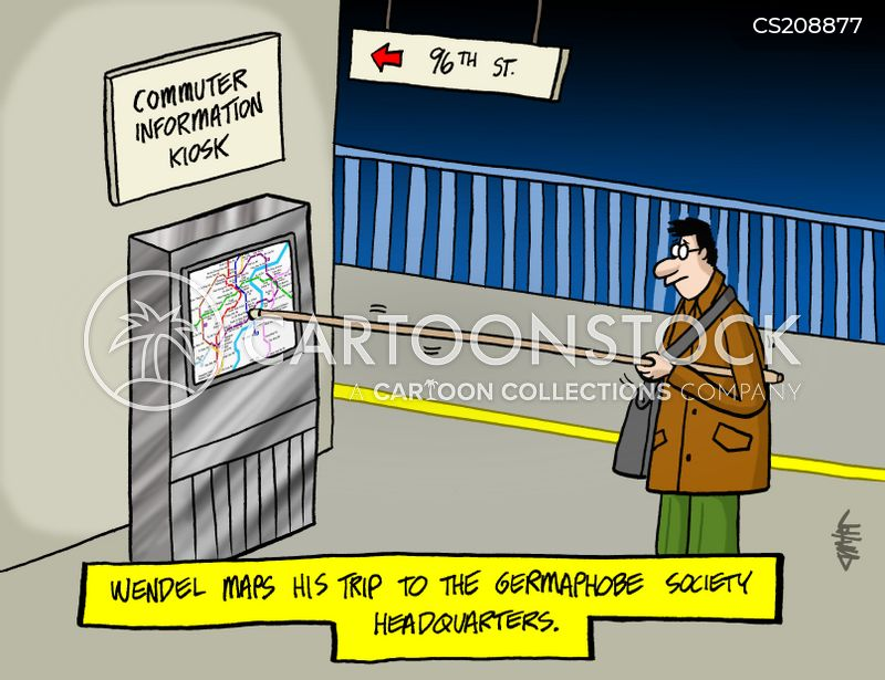 germophobics cartoon