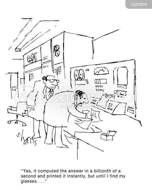 calculated cartoon