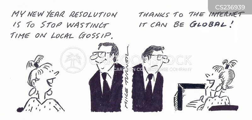 local gossip cartoon