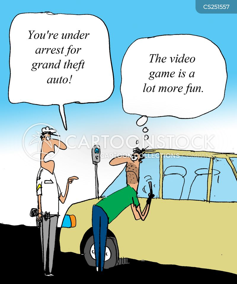 grand theft auto cartoon