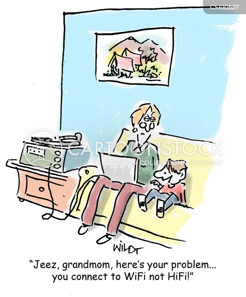 grandmom cartoon