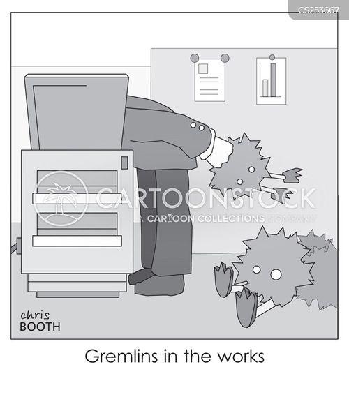 mechanical failure cartoon