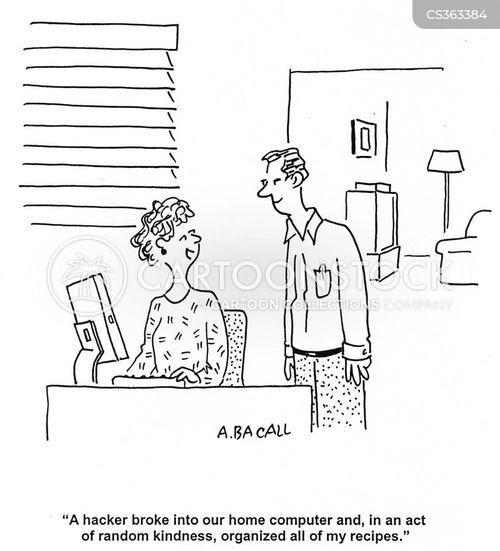 home pcs cartoon