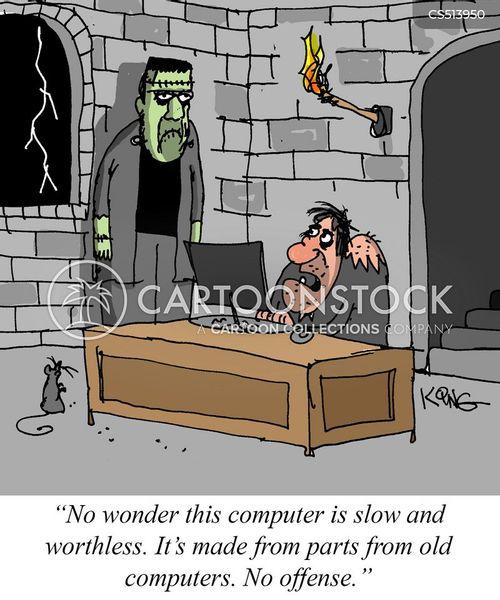 old parts cartoon