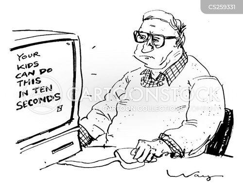 differcult cartoon