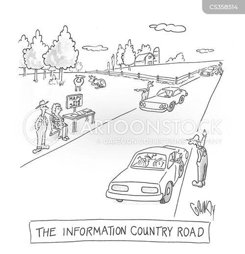 country living cartoon