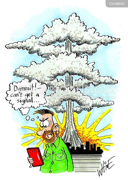 nuclear apocalypse cartoon