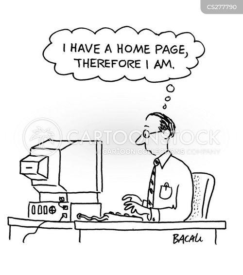 homepages cartoon