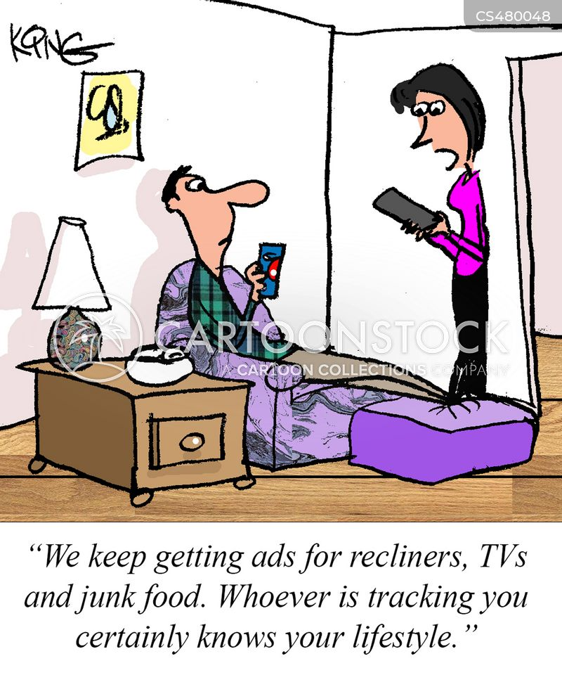 targeted ad cartoon