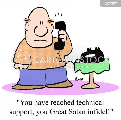 infidel cartoon