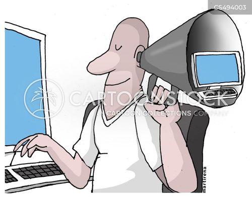 digital ages cartoon