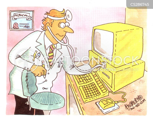 computer failure cartoon