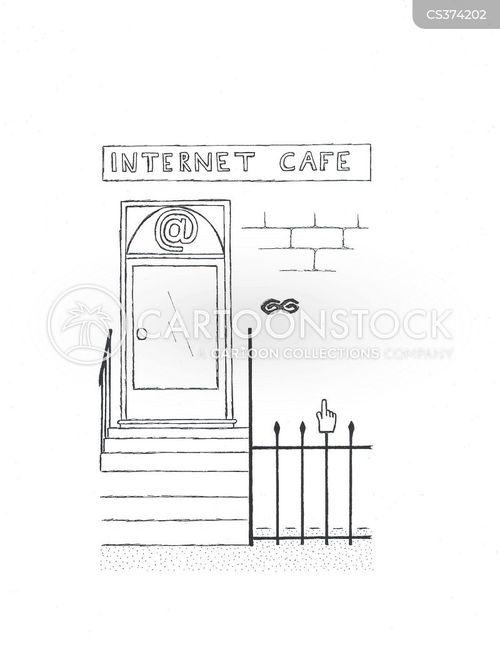 railings cartoon
