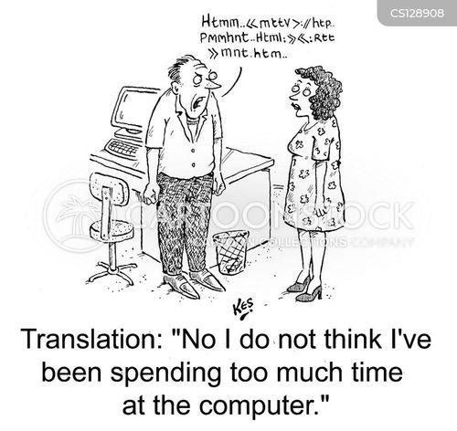 html cartoon