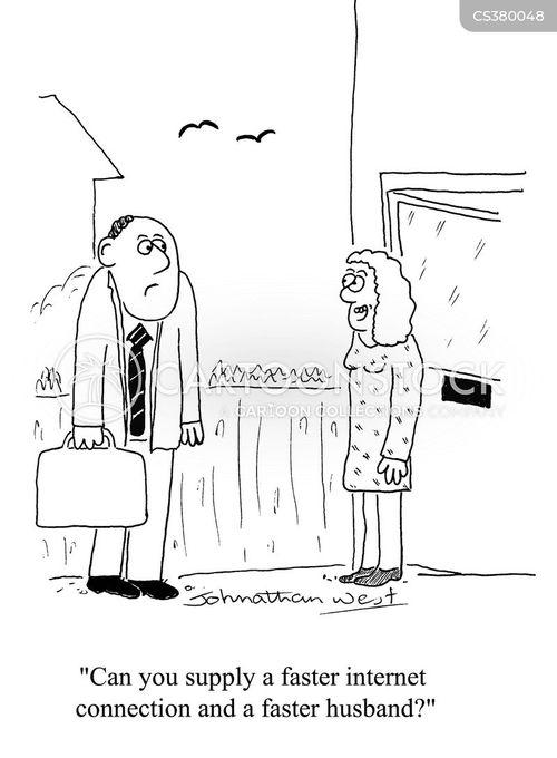 internet service provider cartoon