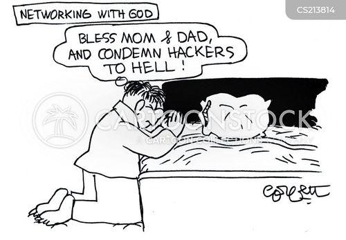 blesses cartoon