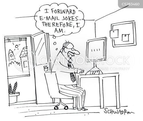joke email cartoon