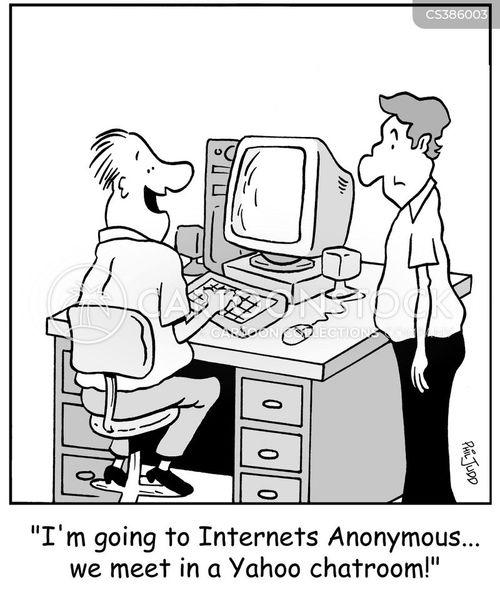 Internet Addicts cartoon 11 of 13