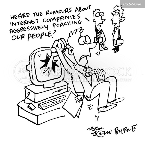 internet companies cartoon