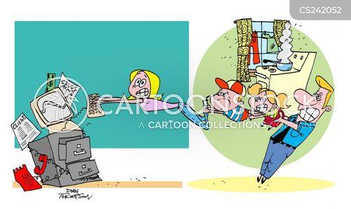 nuclear family cartoon