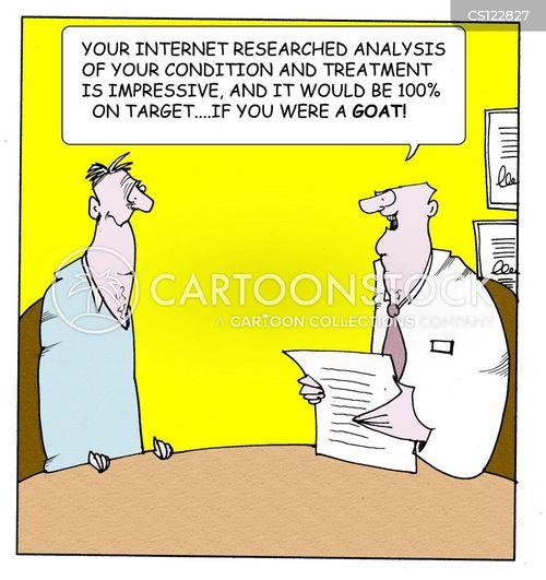 self-diagnosis cartoon