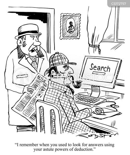 sherlock holmes cartoon