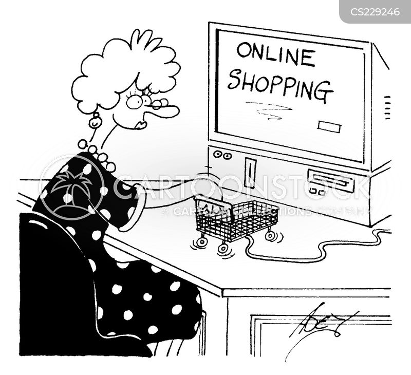 Cartoons About Shopping by Randy Glasbergen Thank you for stopping by to browse my cartoons about shopping. My shopping cartoons are available at great rates for newsletters, magazines, presentations, books, seminars, education and more.