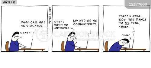 wirelessness cartoon