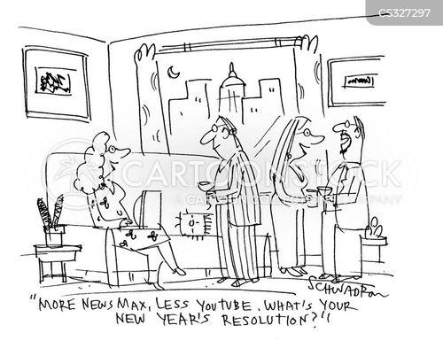 resolute cartoon