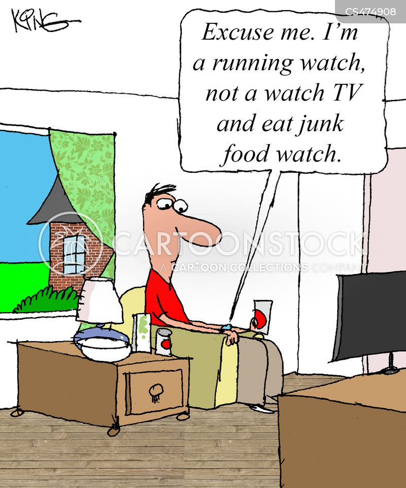 smartwatches cartoon