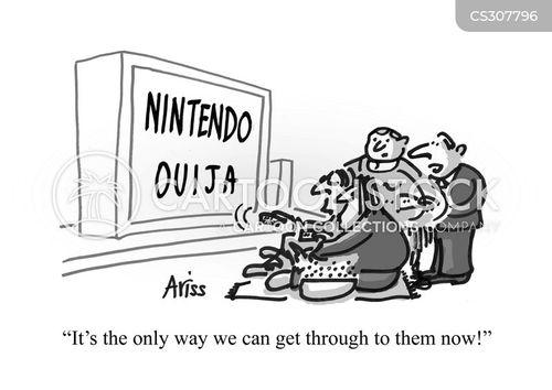 ouija cartoon