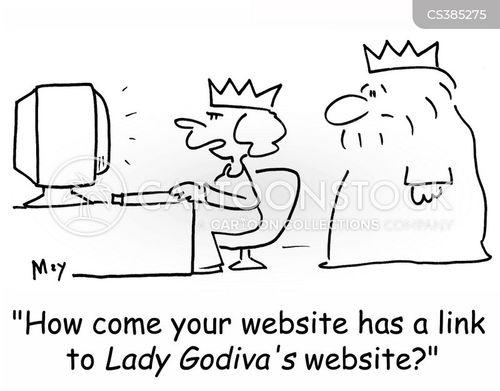 link cartoon