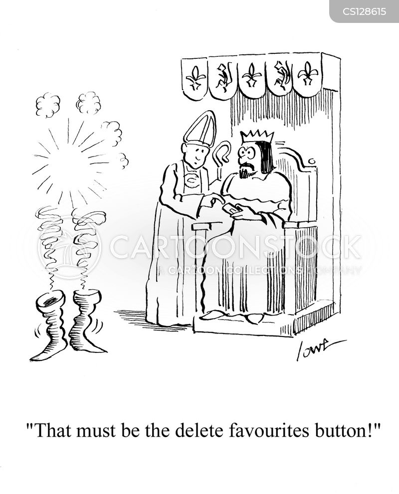 deleting cartoon