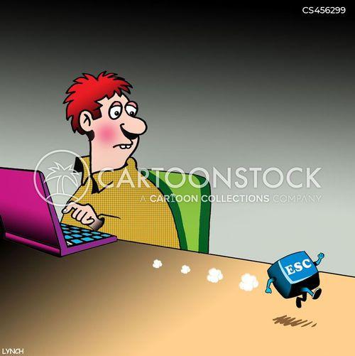 great escape cartoon