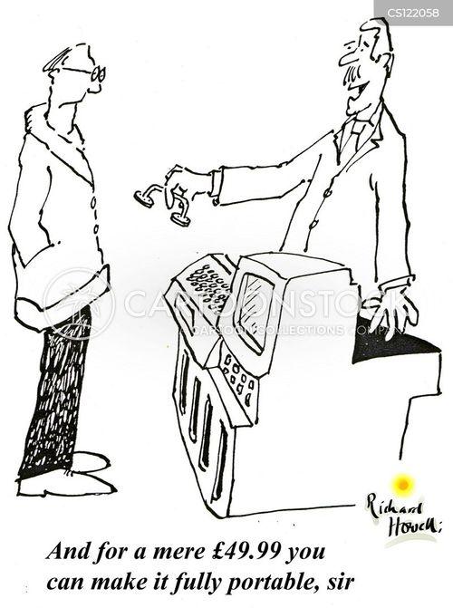 portability cartoon