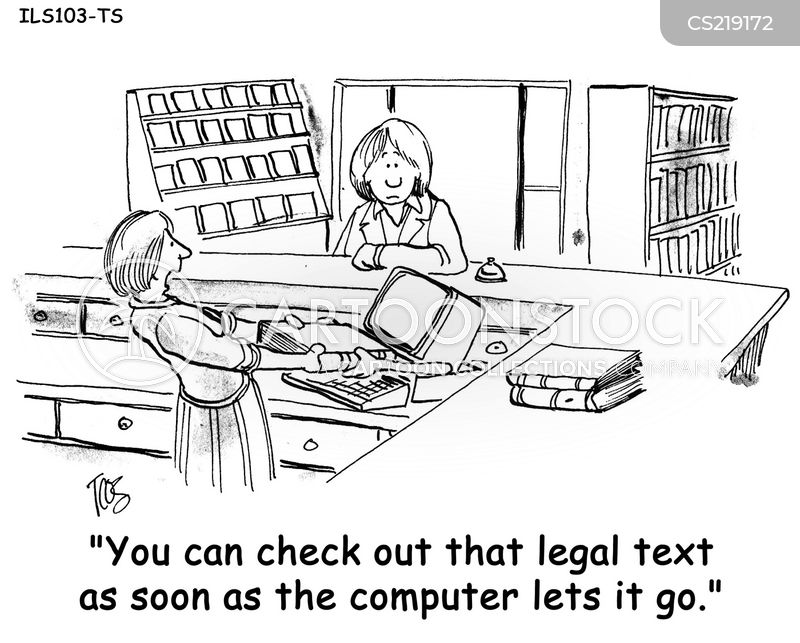 computer technology cartoon