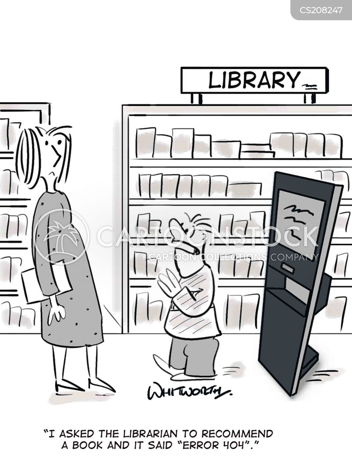 computer error cartoon