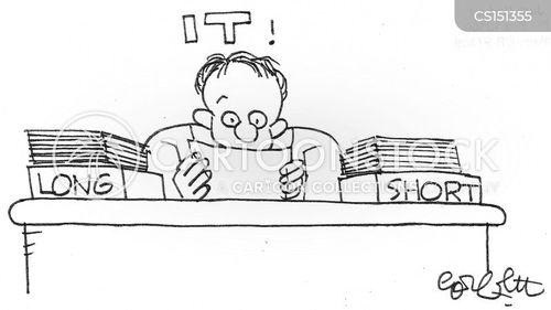 long and short of it cartoon