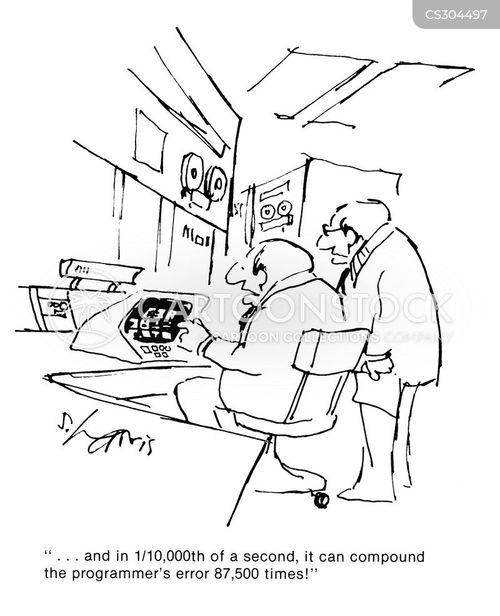 data processor cartoon