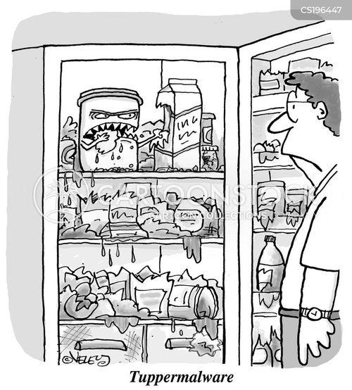 malware cartoon