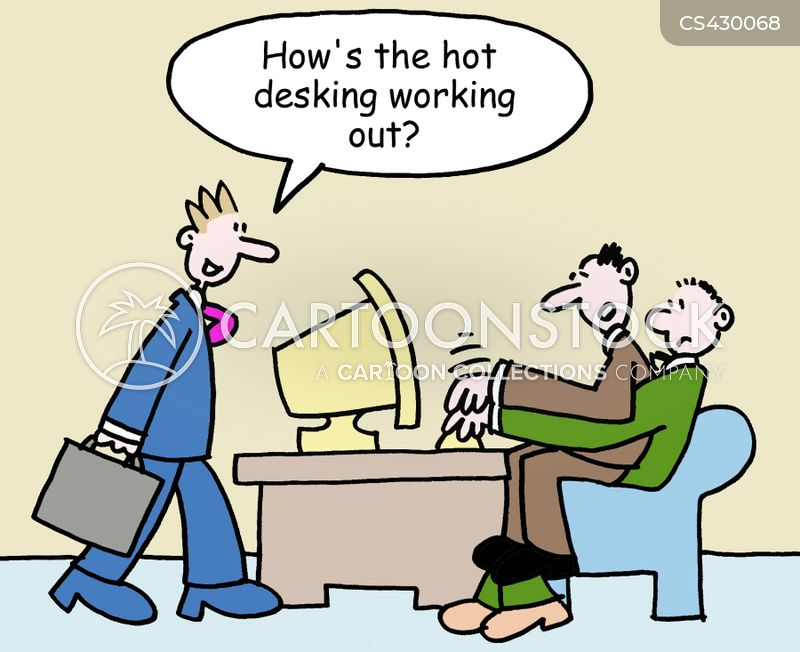 Hot Desking Cartoons And Comics Funny Pictures From