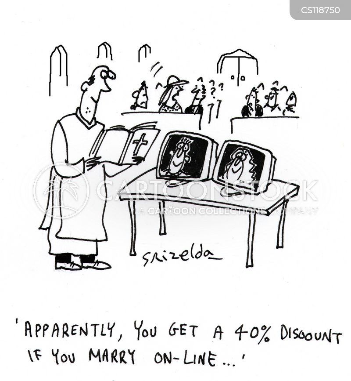 online services cartoon