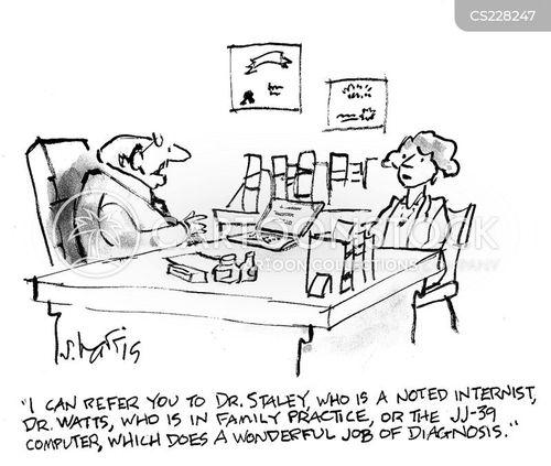 internist cartoon