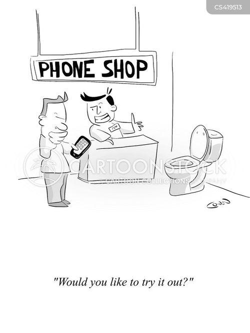 phone contracts cartoon