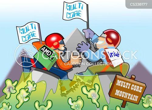 intel cartoon