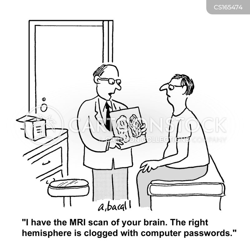 Brain Scan cartoons, Brain Scan cartoon, funny, Brain Scan picture, Brain Scan pictures, Brain Scan image, Brain Scan images, Brain Scan illustration, Brain Scan illustrations