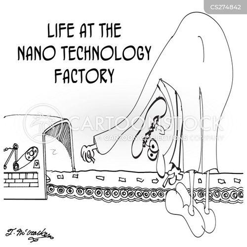 nano technologies cartoon