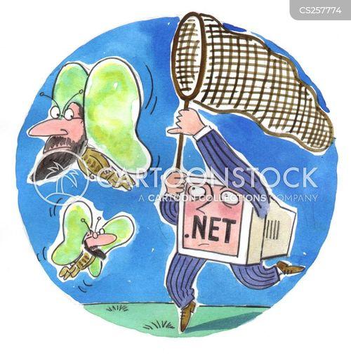dot com businesses cartoon