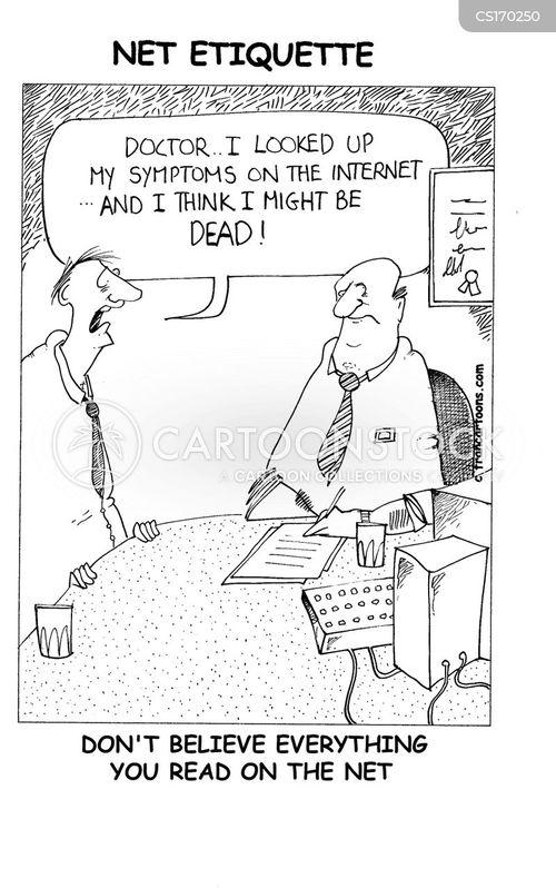hypochondriacs cartoon