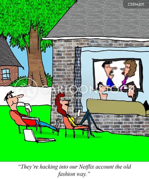 internet safety cartoon
